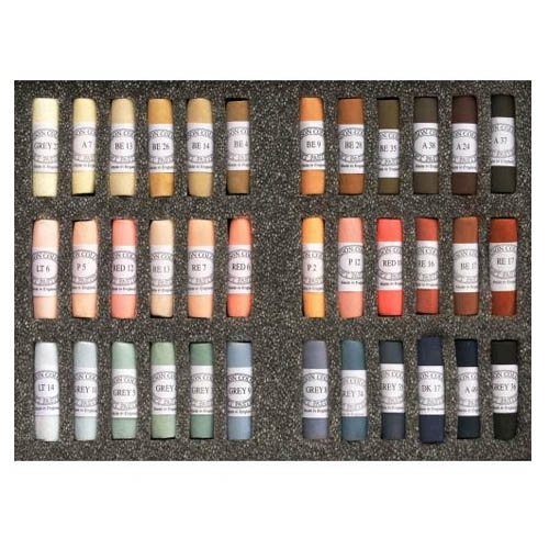 Unison Soft Pastels Set 36 Portrait