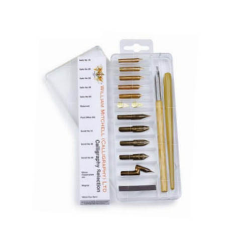 William Mitchell Calligraphy Dip Pen Selection Set