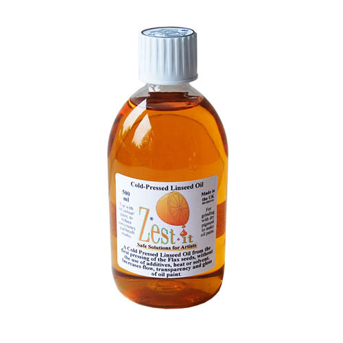Zest-It Cold Pressed Linseed Oil 500ml