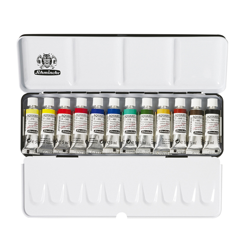 Schmincke Horadam Water Colour 12 Tube Set
