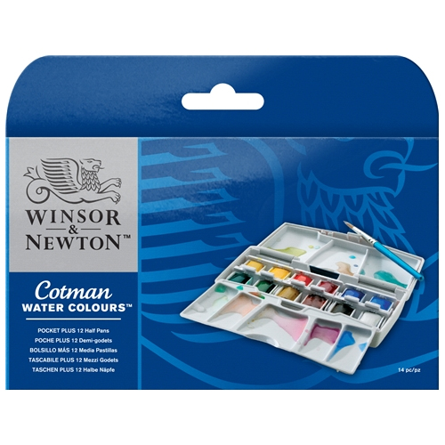 Winsor & Newton Cotman Pocket PLUS Set
