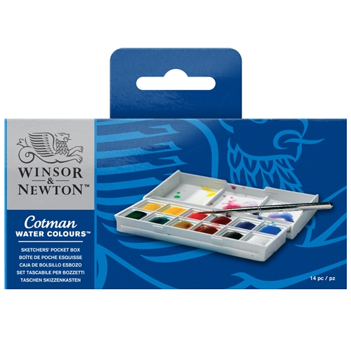 Winsor & Newton Cotman Watercolours Sketchers Pocket Box