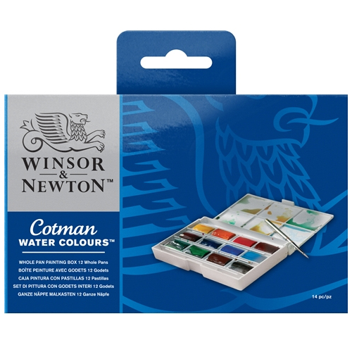 Winsor & Newton Cotman Whole Pan Painting Box