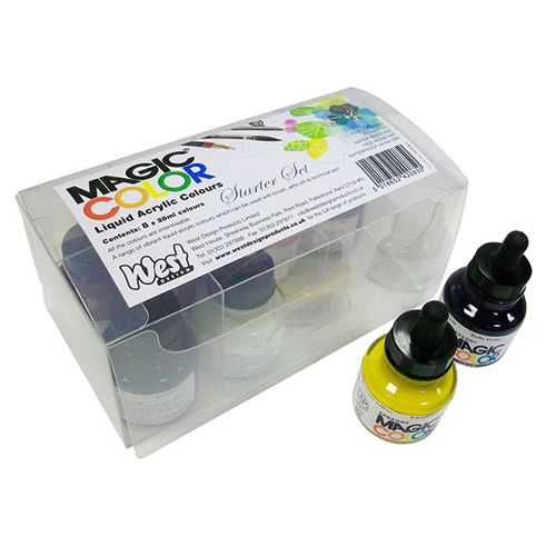 Magic Color Acrylic Inks Intro Set 8x28ml