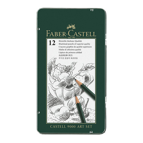 Faber Castell 9000 Pencil Art Set of 12