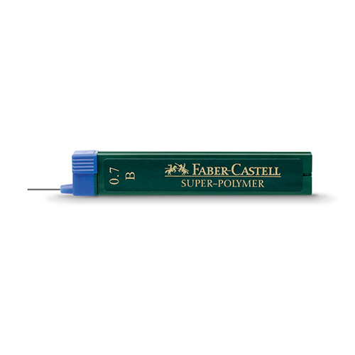 Faber Castell Super-Polymer Pencil Leads 0.7mm: HB
