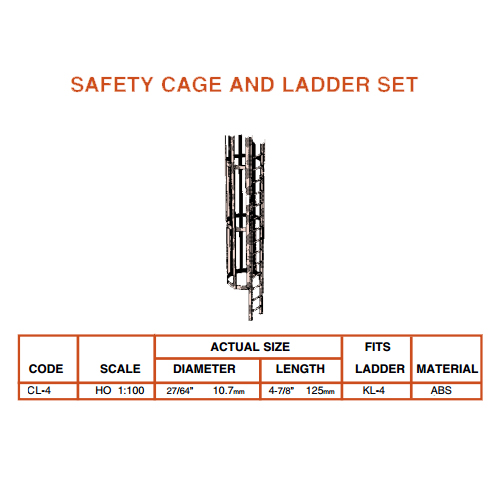 Plastruct Cage & Ladder