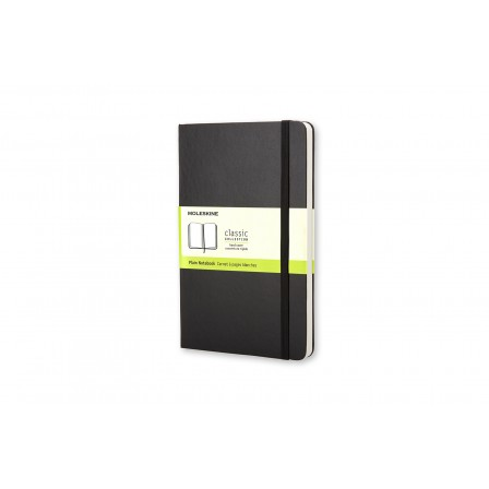 Moleskine Classic Notebook Plain Hard Black Large