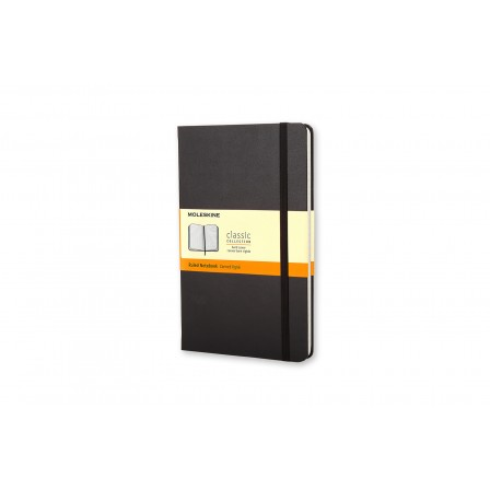 Moleskine Classic Notebook Ruled Hard Black Large