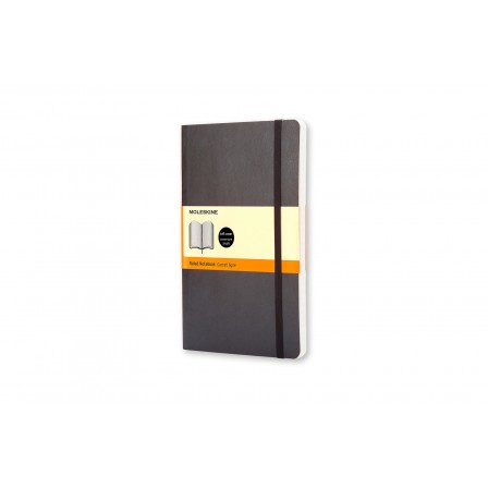 Moleskine Classic Notebook Ruled Soft Black Large