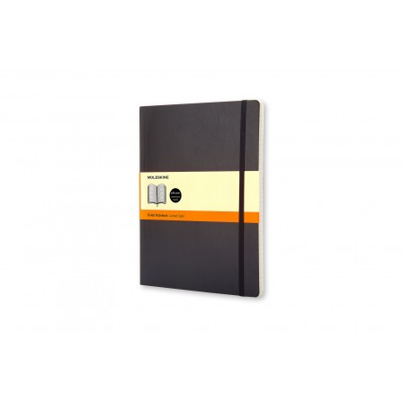 Moleskine Classic Notebook Ruled Soft Black Xlarge