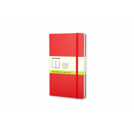 Moleskine Coloured Notebook Hard Large Plain Red