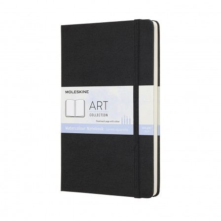 Moleskine Watercolour Notebook A5  Black