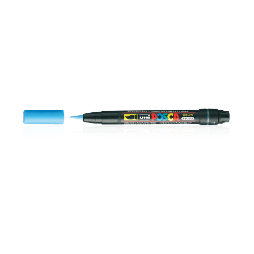 Posca PCF-350 Brush Tip: Black