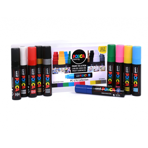 Posca PC-17K Collection 10pc Set