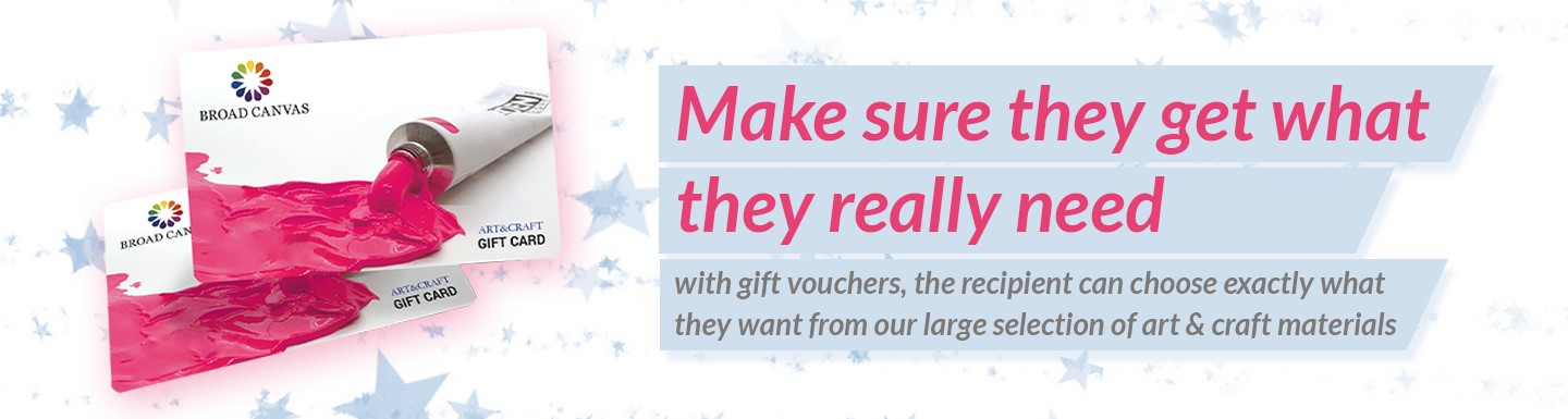 Art and Craft Gift Vouchers