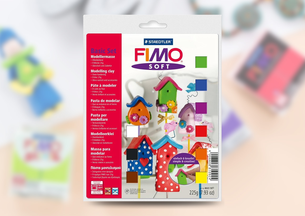 FIMO Soft Modelling Clay Basic Set