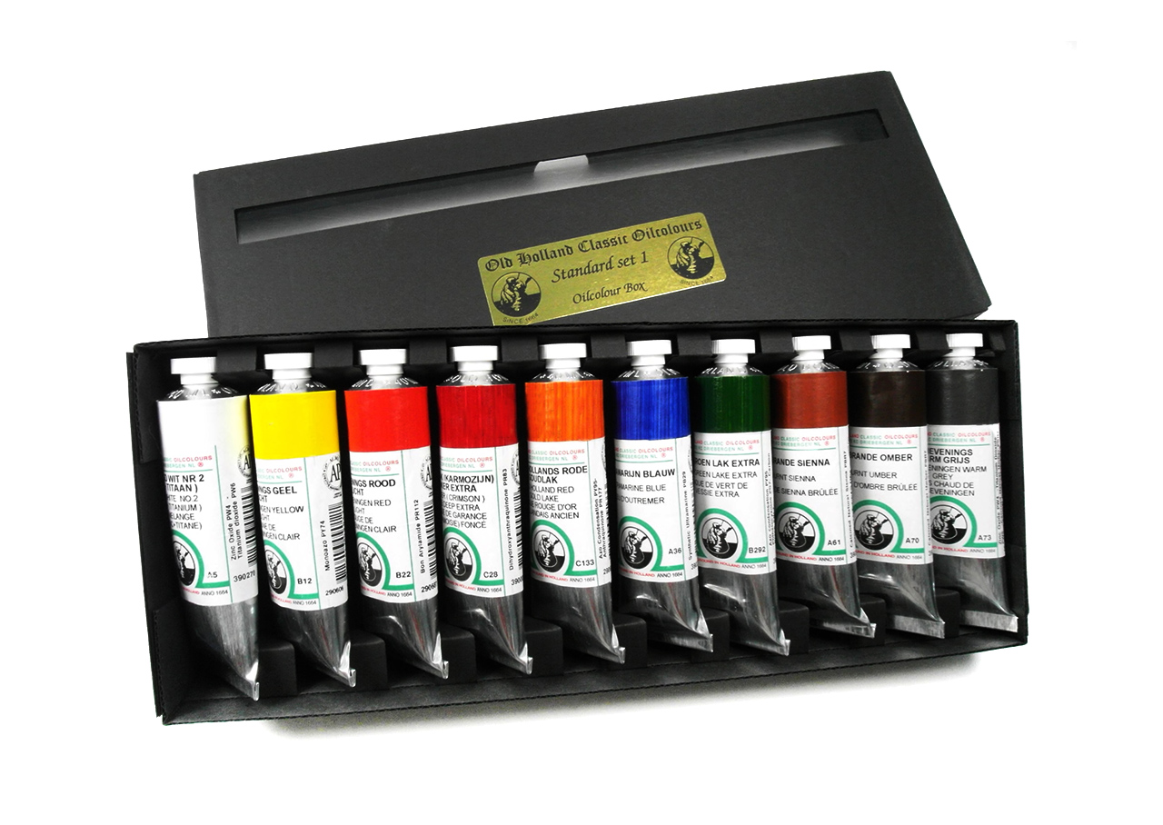 Old Holland Oil Colour Standard Set No.1 10 x 40ml